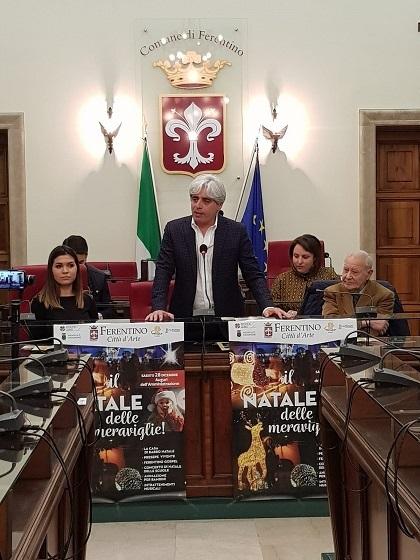 conferenza stampa ferentino natale il corriere della provincia