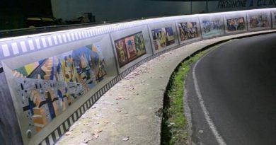murales sottopasso via ciamarra il corriere della provincia