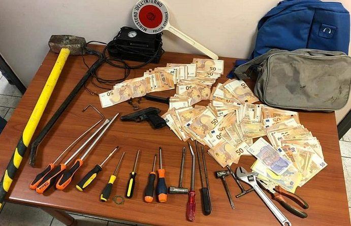 refurtiva arresti polizia stradale il corriere della provincia