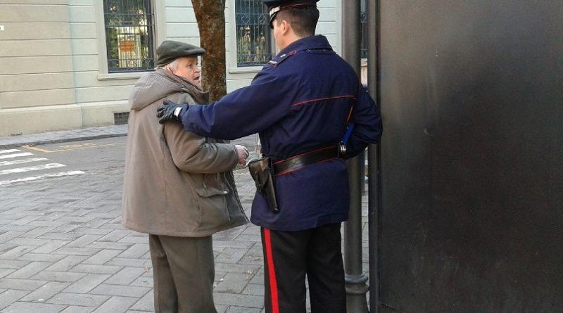 carabiniere anziano il corriere della provincia