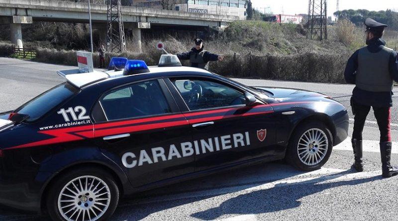 carabinieri pattuglia il corriere della provincia