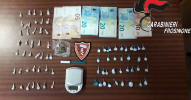 frosinone cocaina colombia arresto carabinieri