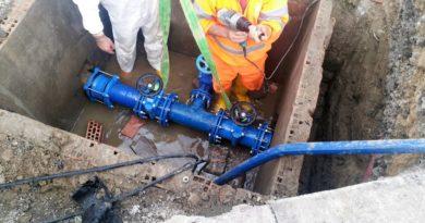 lavori condotta idrica il corriere della provincia