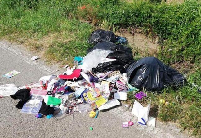 rifiuti fiuggi abbandono il corriere della provincia