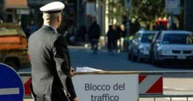 blocco traffico il corriere della provincia