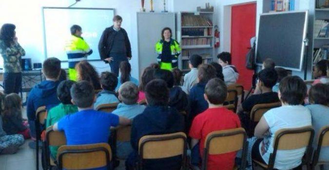 protezione civile scuola il corriere della provincia
