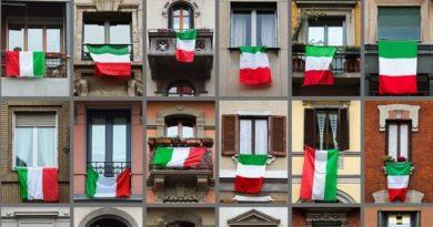 bandiere balconi il corriere della provincia