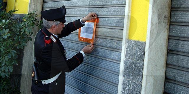carabinieri bar sigilli il corriere della provncia