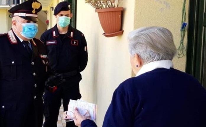 carabinieri consegnano pensione il corriere della provincia