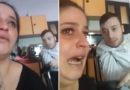 La polizia sanziona il marito e lei racconta la triste verità in un video. Il Questore annulla la multa e la aiuta