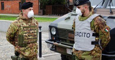 esercito controlli covid-19 il corriere della provincia