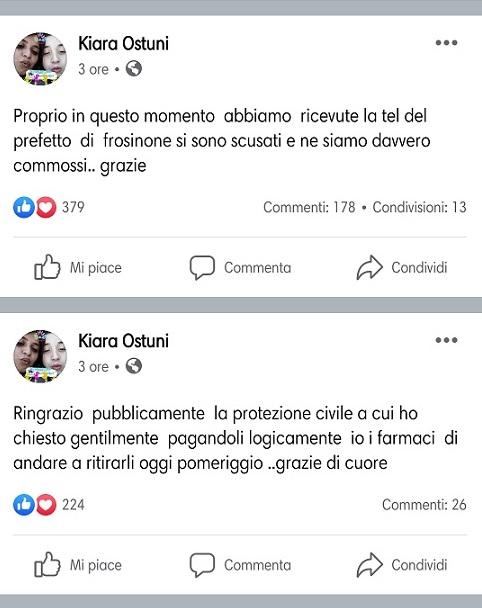 screenshot Chiara Ostuni il corriere della provincia
