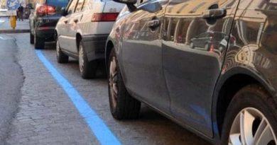 strisce blu parcheggi il corriere della provincia