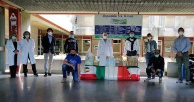donazione esercito mascherine sora il corriere della provincia