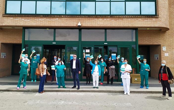 mascherine frosinone ospedale spaziani il corriere della provincia