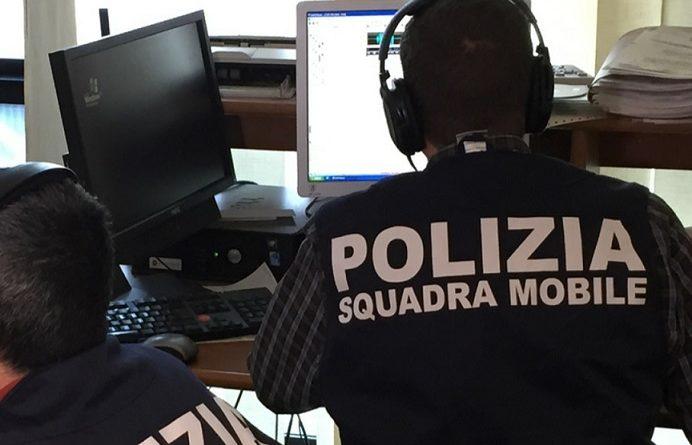 squadra mobile polizia il corriere della provincia