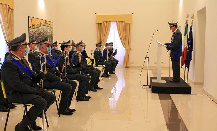 cerimonia guardia finanza il corriere della provincia