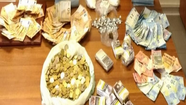 droga e soldi sequestrati il corriere della provincia