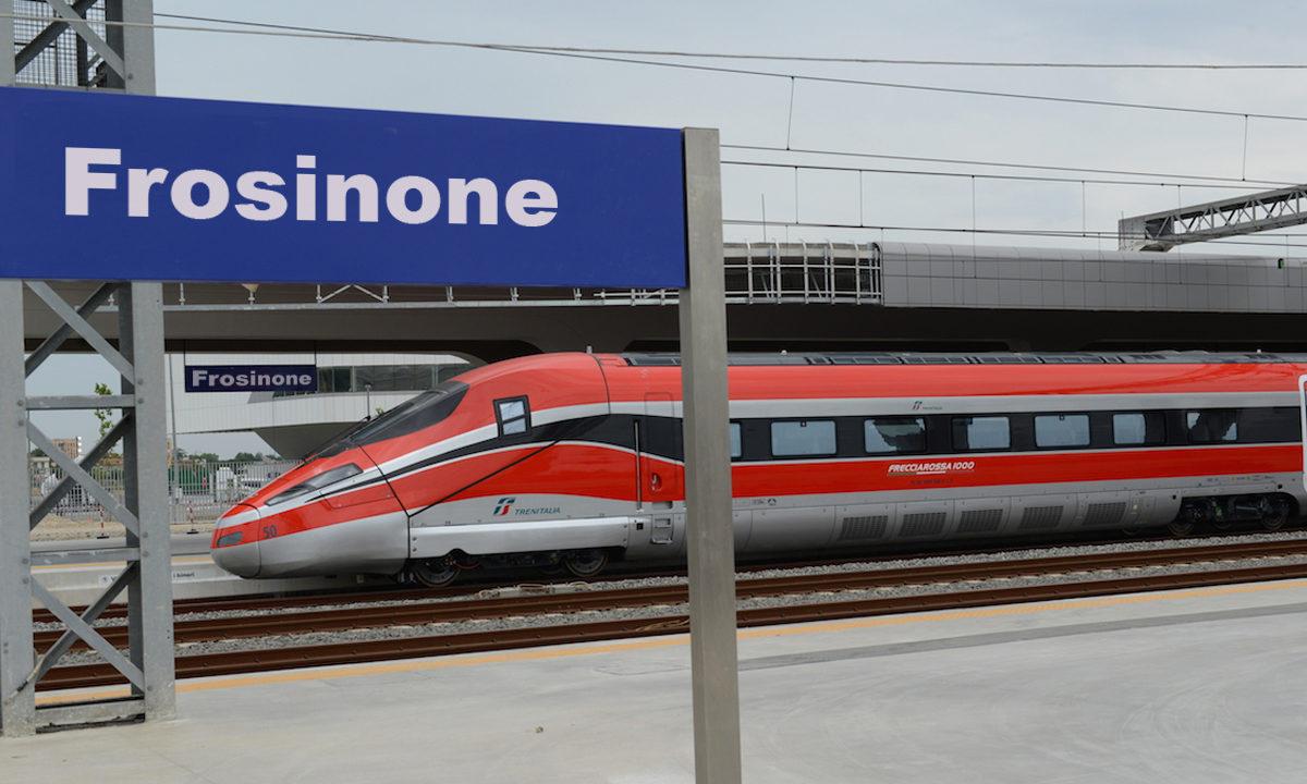 Impresa In Un Giorno Frosinone frosinone: domenica 14 ore 17.41, arriva il frecciarossa