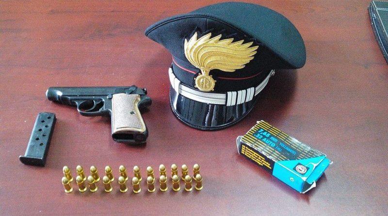 pistola cartucce il corriere della provincia