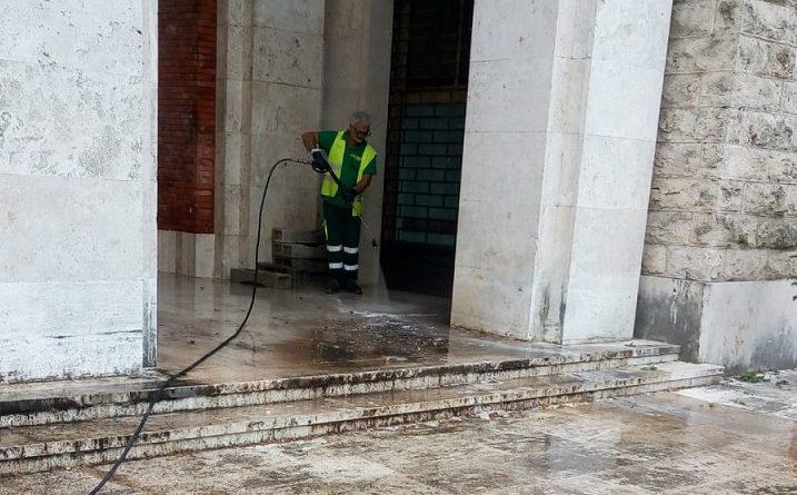 pulizia piazzale vittorio veneto
