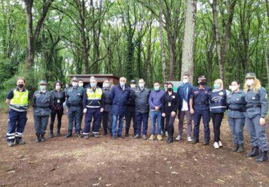 Paliano, liberati diversi rapaci nel bosco