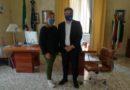 Cassino: il sindaco incontra il nuovo vicequestore Salerno