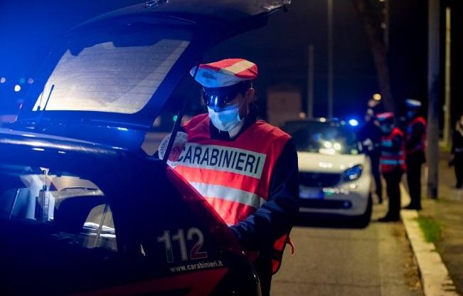 carabinieri controlli coprifuoco