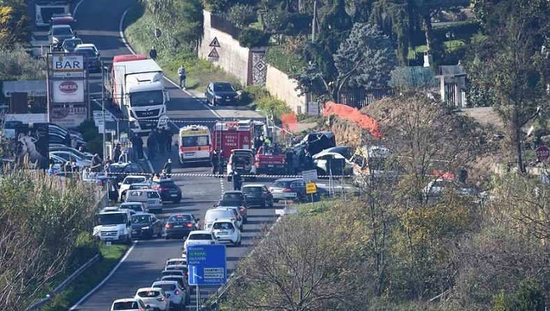 incidente ponte grande ferentino