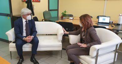 Il presidente Pompeo incontra il nuovo dg Asl: attenzione anche oltre l'emergenza