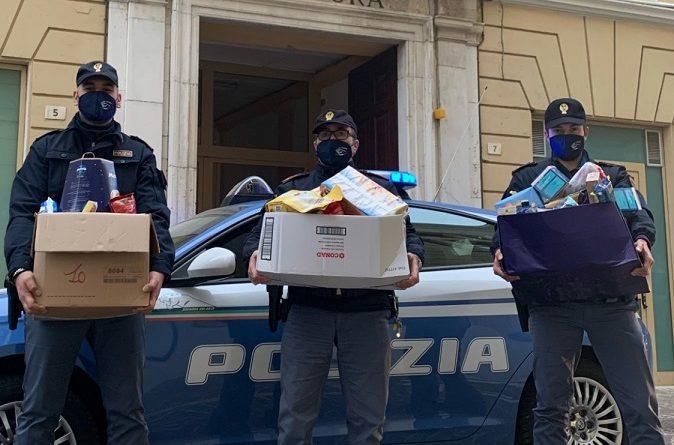 polizia donazione