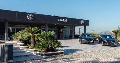 Jean-Philippe Imparato, Chief Executive Officer di Alfa Romeo, in visita alla concessionaria Eco Liri di Cassino