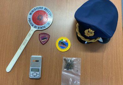 Frosinone: 17enne con la droga stanato dal fiuto del cane poliziotto Isco
