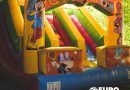 Un successo il Parco gonfiabili per bambini all'Euro Park.  Stasera appuntamento con la nazionale