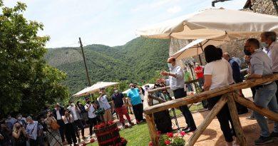 Trevi nel Lazio, Zingaretti inaugura l'ostello di Colle Mordani: una tappa del percorso per restituire ai giovani luoghi inutilizzati