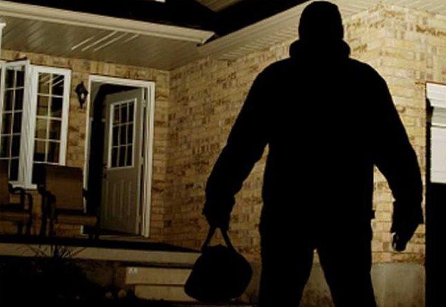 ladro in villa