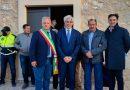 Pignataro Interamna: taglio del nastro con il presidente Pompeo dopo i lavori al deposito sulla S.P.45