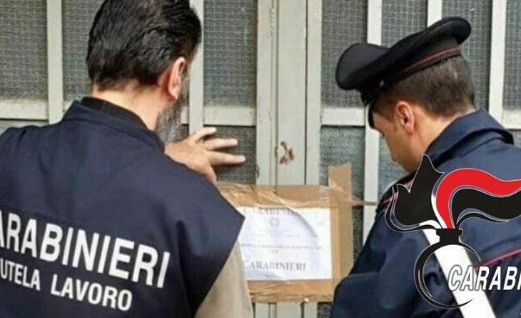 carabinieri e ispettorato lavoro
