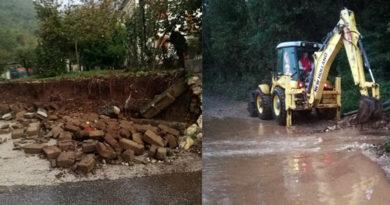 Morolo allerta meteo tempo alluvione allagamenti Fabrizio Mancini disagi smottamenti