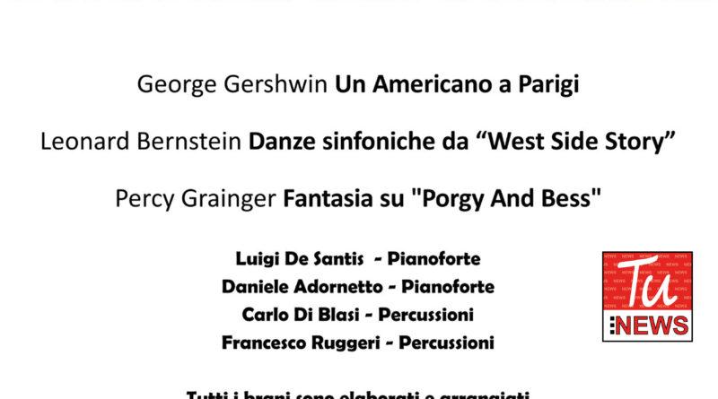 Locandina concerti d'autunno Frosinone Ciociaria musica Refice appuntamenti