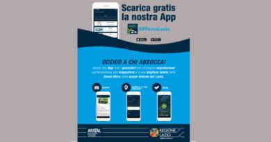 pesca AppescaLazio ambiente pescatori Enrica Onorati Regione Lazio Frosinone Ciociaria app gratuita fauna ittica
