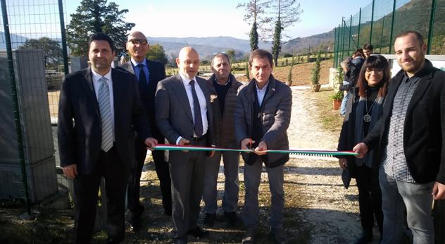 depuratore Alvito Frosinone Ciociaria Acea Ato 5 acqua ambiente Stefano Magini Duilio Martini