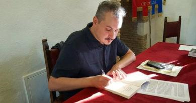 Filippo Cannizzo Frosinone Ciociaria presentazione libro Briciole di bellezza Italia Bel Paese cultura attualità