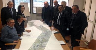 riunione Cda Frosinone Ciociaria Anagni Francesco de Angelis Manzella Ferracci manutenzione stradale Asi
