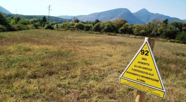 Sin valle del sacco siti inquinati zone interdette frosinone ciociaria veleno
