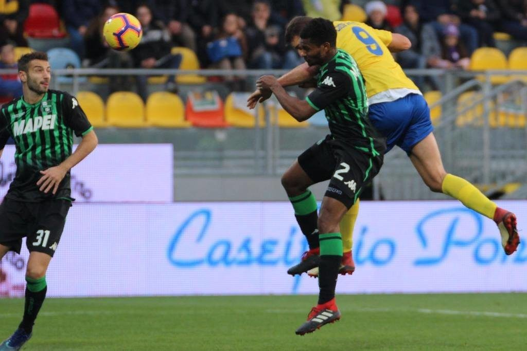 Frosinone Sassuolo match partita calcio stadio Benito Stirpe Ciociaria pagelle
