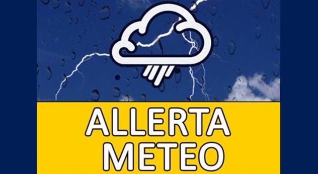 attualità tempo maltempo forti piogge Frosinone Ciociaria protezione civile allerta meteo codice giallo