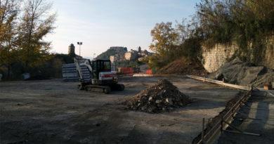 attualità cittadini Frosinone isola ecologica lavori parcheggio piazza Gioacchino Conti rifiuti Arpino Ciociaria Renato Rea Gianluca Quadrini