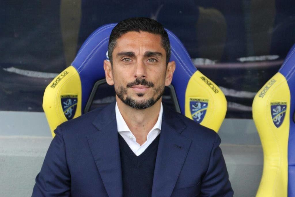 Frosinone Cagliari partita match serie a calcio ciociaria allenatore mister moreno longo
