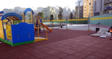 attualità Parco Matusa Nicola Ottaviani area giochi bambini Frosinone Ciociaria noleggio biciclette lavori in corso Città in Video